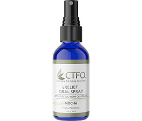 CBD Relief Oral Spray - 30ml